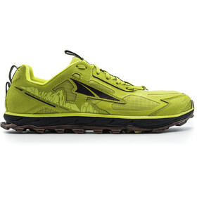 Altra Lone Peak 4.5 Trail Running Shoes Men, lime/red